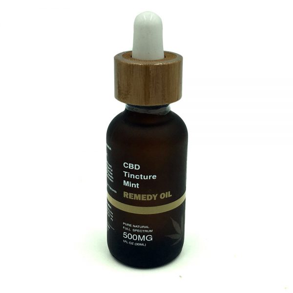 Remedy Mint Tincture - 500mg CBD