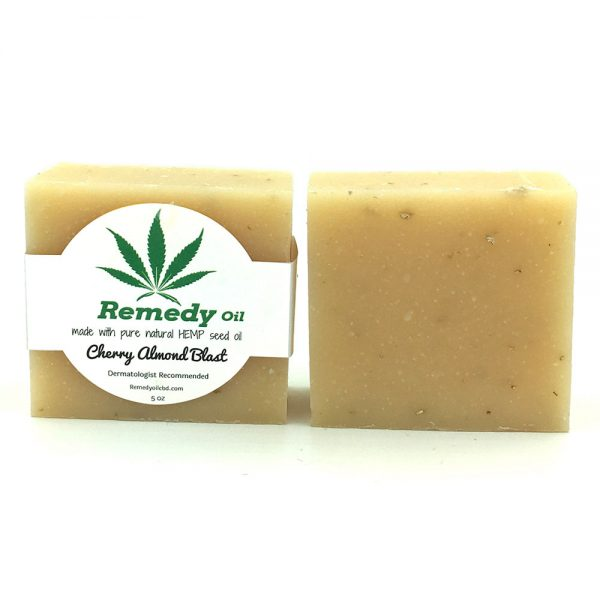 Remedy Cherry Almond Blast Hemp Seed Oil Soap