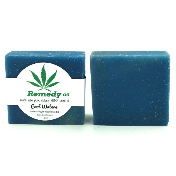 Remedy Cool Waters Hemp Seed Oil Soap