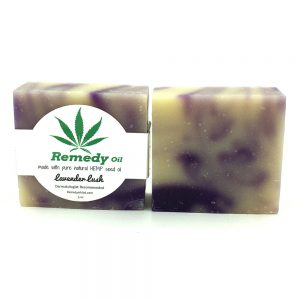 Remedy Lavendar Lush Hemp Seed Oil Soap