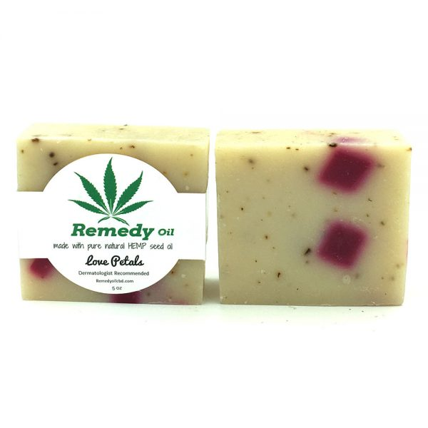 Remedy Love Petals Hemp Seed Oil Soap