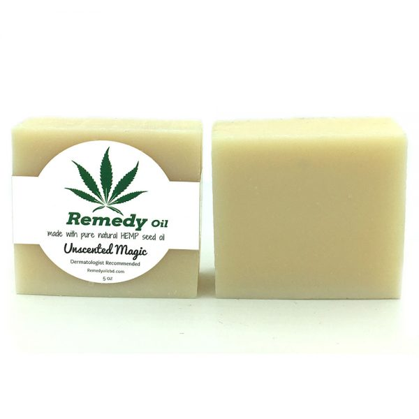 Remedy Unscented Magic Hemp Seed Oil Soap Bar