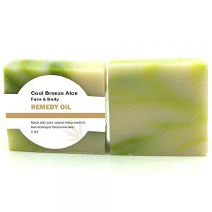 Cool Breeze Aloe Hemp Soap