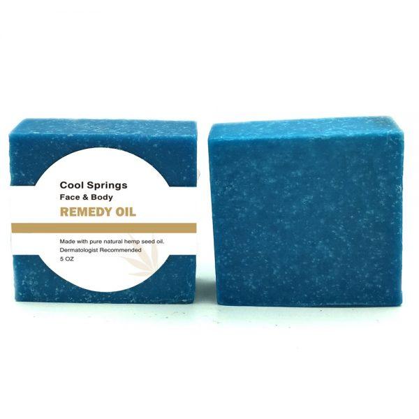 Remedy Cool Springs Face & Body Hemp Soap