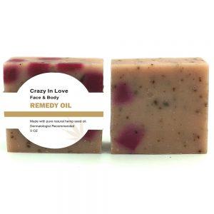 Crazy In Love Hemp Seed Oil Soap bar