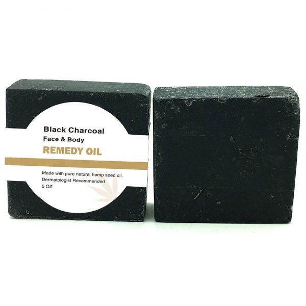 Remedy Hemp Soap Black Charcoal