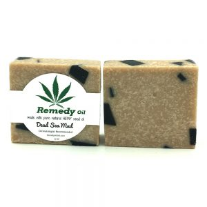 Remedy Dead Sea Mud Hemp Seed Oil Soap