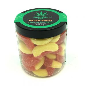 Peach Rings Full Spectrum CBD Gummies