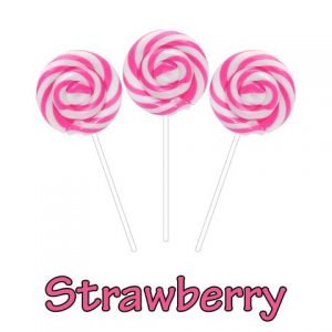 Lollipop Strawberry CBC